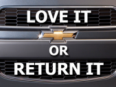 "Chevy ""Love It or Return It"""